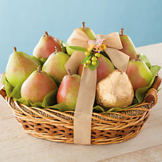 <span style=color:#bb0011>NEW</span> Gold Spring Pear Gift Basket