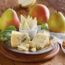 Royal Riviera® Pears with Rogue Creamery® Oregonzola Blue® Cheese and Smokey Blue® Cheese