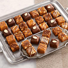 Chocolate Nut Caramels