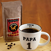 Papa Mug with Coffee